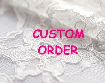 Custom order dress for Amanda