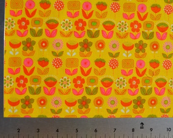 Urban Ditsy in Lemonade (Sheeting Fabric) from the Mecca for Moderns collection for Alexander Henry