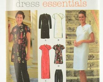 Simplicity Pattern 7178 Misses' Dress Essentials Petite Dress, Top, and Pants Sizes 10 12 14 UNCUT