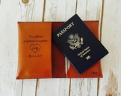 The Perfect Wedding Gift, Passport Cover Holder, Husband Gift, Groom Gift From Bride, Lifetime of Adventures Passport, Bride to Groom