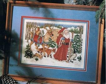 Woodland Santa Etsy