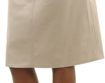 Roll-top Maternity Skirt