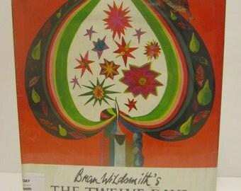 1972 Brian Wildsmith's The Twelve Days of Christmas 3rd Printing