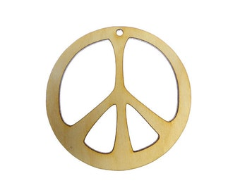 Peace Sign Ornament - Peace Sign Gift - Peace Sign Decor - Peace Sign Gifts - Peace Sign Ornaments - Hippie Gift - Personalized Gift
