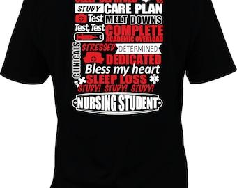 Student nurse shirt, future nurse gift, nurse gift, nursing student, RN shirt, LPN shirt, nurse practitioner shirt, apn shirt, up to 5xl