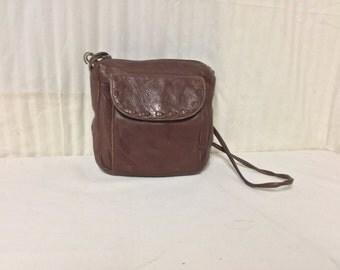 Free Ship Liz Claiborne Leather Purse Cross Body Shoulder Bag