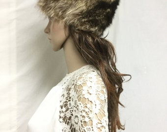 Fur Cap ,Hat ,Small,Raccoon fur