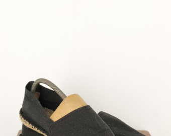 French black espadrilles T40