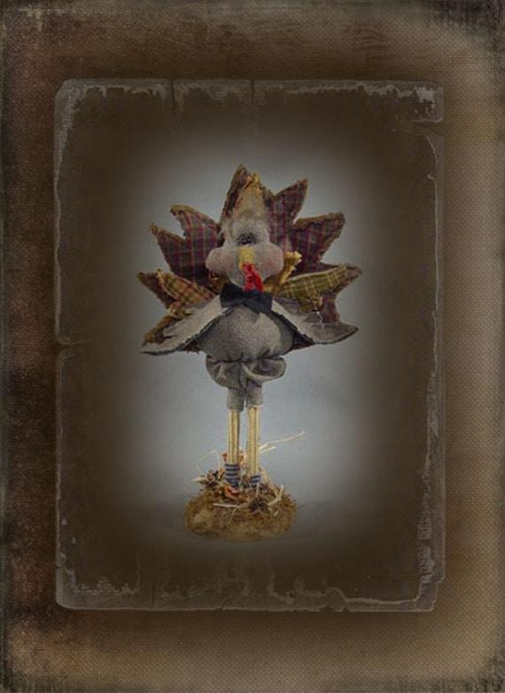 """Pattern: Zeke - 13"""" Turkey"""