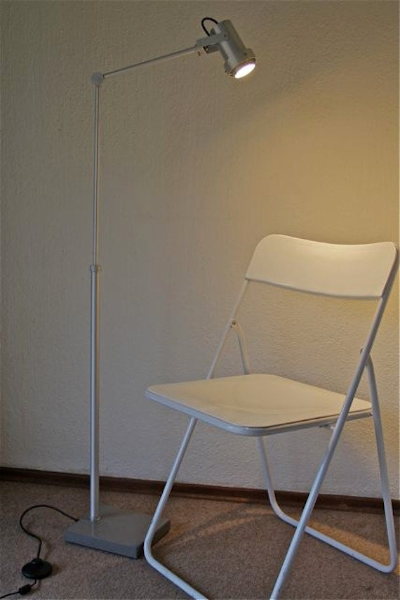 Wall Lamp Height From Floor : LED Floor Lamp Adjustable Height