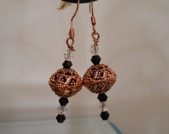 Bronze Colored Earrings Item No. 39