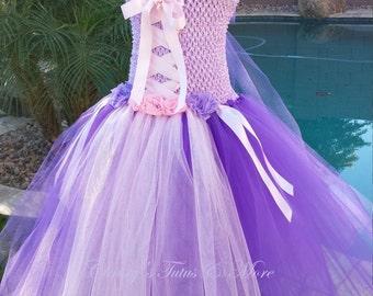 Rapunzel - Tangled tutu dress