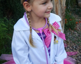 Doc Mcstuffins Headband/Doc McStuffins glitter hairband/Doc McStuffins hairband