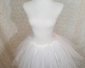 Angel Tutu Set, CHILD Angel Costume, White Swan Costume, White Swan Ballerina, Angel Halloween Costume, Photo Prop, Cake Smash, Swan Costume