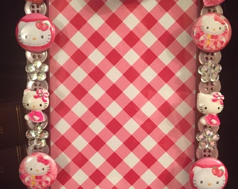Hello Kitty button picture frame free shipping use holiday16