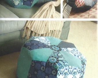Dresden Pouf and Pillow Pattern