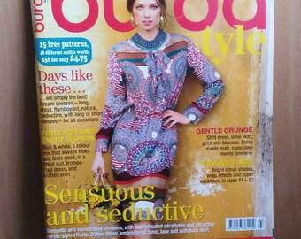 Burda Style Magazine 3/2014, Burda Style March 2014, Sewing Pattern Magazine, New Uncut Patterns, Women's Patterns, Children's Patterns
