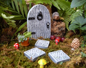 Celtic fairy etsy for Irish fairy garden