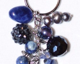 Colors of the Zodiac: Virgo Keychain