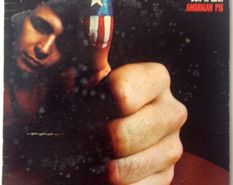 Don McLean - American Pie LP Vinyl Record Album, United Artists Records - UAS-5535, Folk Rock, Rock, 1971
