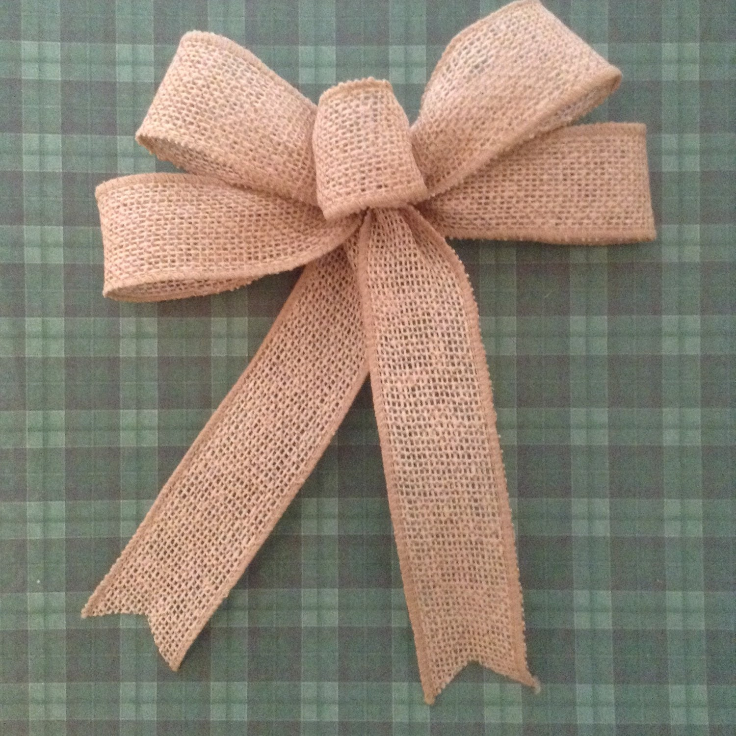 burlap decorative bows set of 6 christmas burlap tree bows