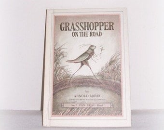 "Weekly Reader Book ""Grasshopper On The Road"" An I Can Read 1978 Hardcover Book by Arnold Lobel"