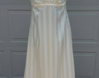 Elizabeth Bennet Ivory Regency Ball Gown Ladies Size Small-Ready to Ship