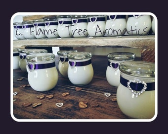 Personalised Wedding Favours - Soy Candles