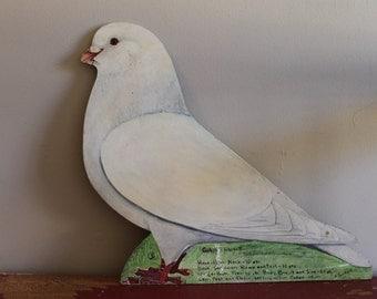 Giant Runt Pigeon Folk Art by H. Eric Buri