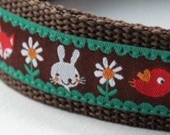 Fox and Friends Dog Collar Adjustable