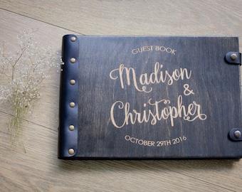 Wedding Guest Book, Wedding Album, Guest Book, Rustic Guest Book, Wedding, Wood Guest Book, Wedding Guestbook, Guestbook, Custom Guest Book