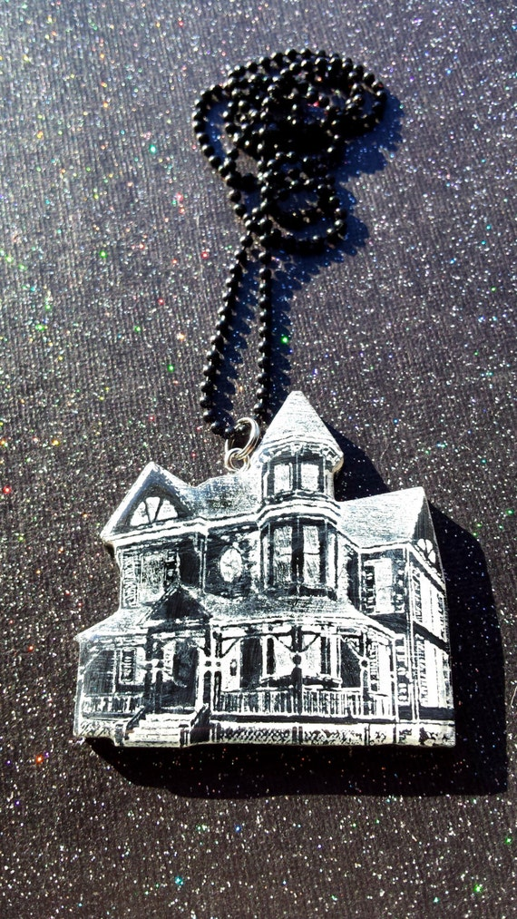 House Haunted House Victorian Gothic Jewelry Creepy Jewelry