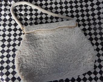 Vintage/ beaded purse/ beaded clutch