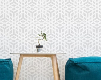 Orient wall stencil - Moroccan style Wall Stencil for DIY projects - Reusable stencils - Wallpaper look - DIY home decor