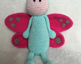 Butterfly chrochet pattern PDF Englisch and Dutch