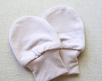 SALE! Bamboo Baby Mittens / No Scratch Infant Mitts
