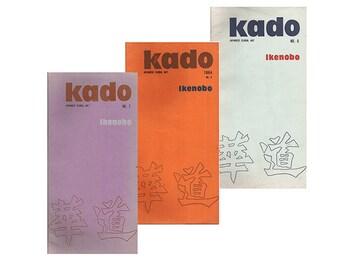 Japanese Flower Arranging Magazines, Modernist Floral Arranging, Kado Ikenobo