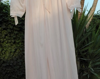 Shabby chic peach robe