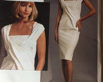 Vogue V1087 Donna Karan Collection Pattern Sizes 12-18 uncut