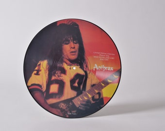 """ANTHRAX - """"Limited Edition Interview Picture Disc"""" vinyl record"""