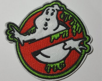 Ectoplasm Ghostbusters retro iron on patch applique