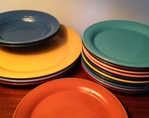 Choose your Nancy Calhoun color plate or bowl made in Japan