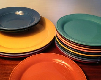 Assorted Nancy Calhoun plates and bowls made in Japan - price is for each