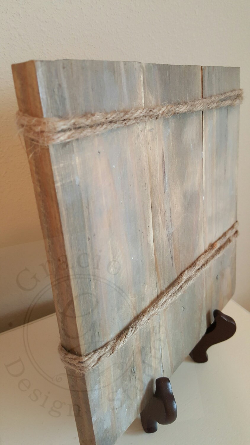 Rustic pallet wood picture frame pallet art reclaimed wood