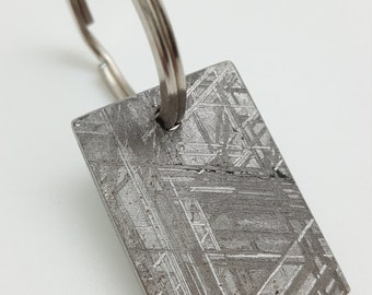 Meteorite Keychain - Meteorite Key Chain - Unique Gifts For Men Who Have Everything - best nerd gifts - Space Gifts - Gibeon - geeky gift
