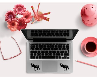Laptop Decal - Moose  Decal- Wall Decal, Cell Decal, Laptop Decal