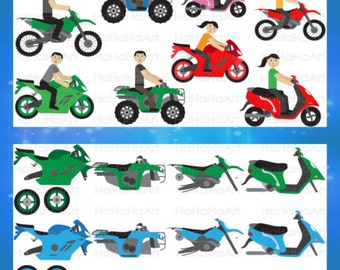 Motorcycles and ATV's - Cutting Files Svg Png Jpg Eps Digital Graphic Design Instant Download Commercial Use bike fast (00669c)
