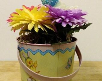 Easter Decor, Floral Arrangement, Spring Centerpiece, Easter Arrangement, Floral Centerpiece, Spring Decor, Spring Decoration