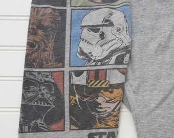Star Wars Brady Bunch Upcycled Pants (3T)