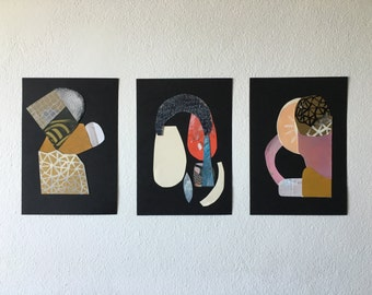 Abstract collage grouping - Chrome